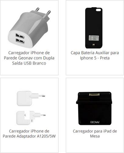 Carregador Veicular iPhone