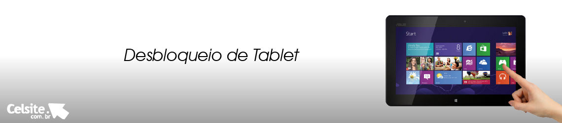 Desbloqueio de Tablet
