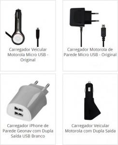 Carregador Veícular Motorola