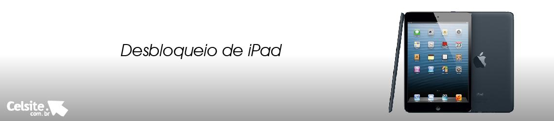 Desbloqueio de iPad